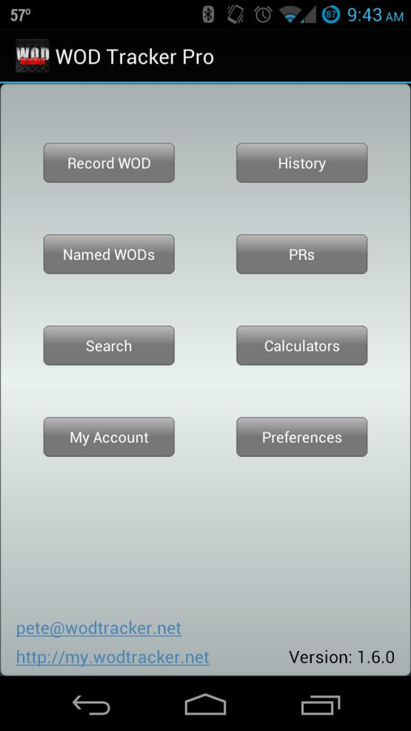 Updated UI background